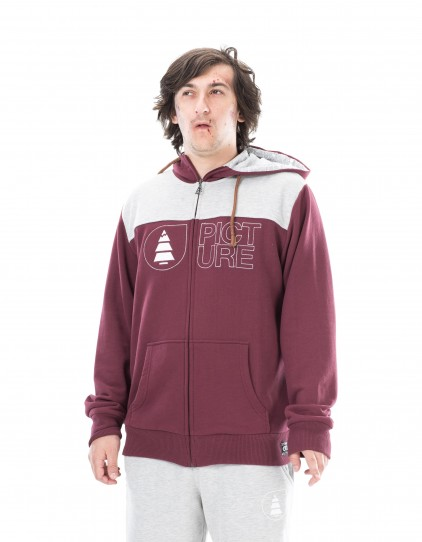 BASEMENT HOODIE_BURGUNDY